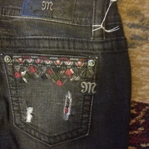 NWOT Miss Me Skinny Jeans Size 30x29